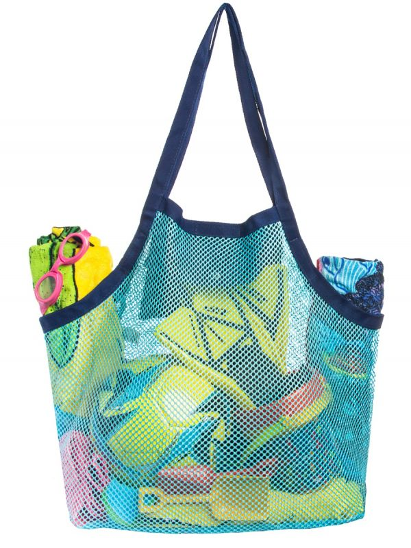 41cab09ad9b0 Mesh Beach Bag