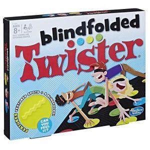 Blindfolded Twister Game