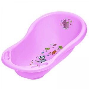 Hippo Baby Bath With Plug