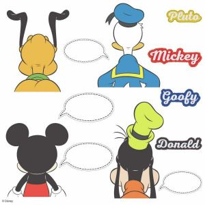 Mickey and Friends Stick Wall