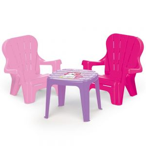 Unicorn Table & 2 Chairs Set