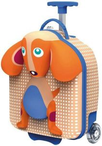 Dog 3D Trolley Suitcase