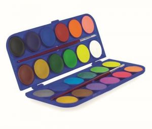 24 Water Colors Set