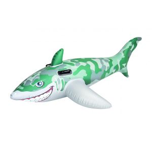 Army Shark Inflatable Rider
