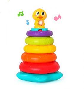 Rainbow Stacking Duck