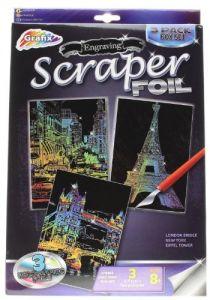 Scraper Holographic Foil