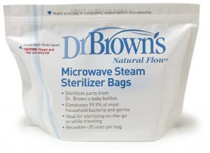 Microwave Steam Sterilizer Bags
