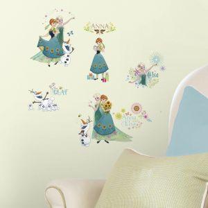 Elsa & Olaf In Spring
