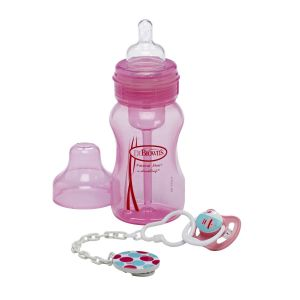Single Bottle & Soother Gift Set