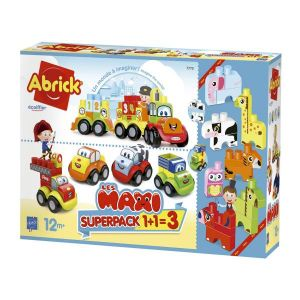 Blocks Animals & Vehicles 3-In-1