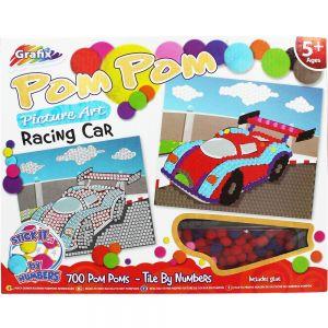 Pom Pom Racing Car