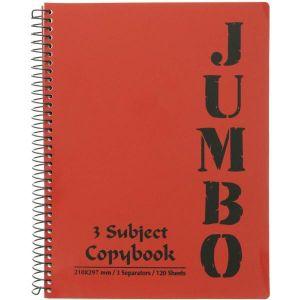 3 Subject Notebook