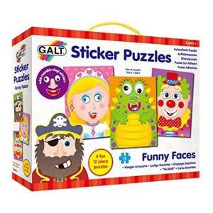 Sticker Funny Faces Puzzles