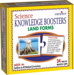 Science Boosters Land Forms