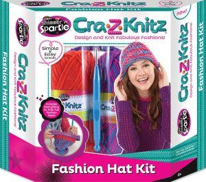 Fashion Hat Knitting Kit