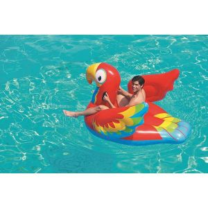 Inflatable Peppy Parrot Ride-On