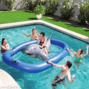 Inflatable Shark Ride-ON
