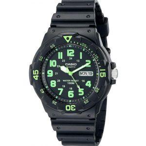 Analog Quartz Black Watch