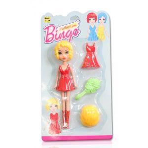 Fashion Doll Blister Card