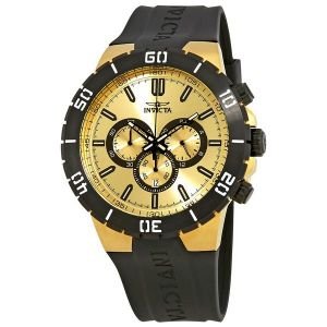 Pro Diver Gold Dial Men's Watch