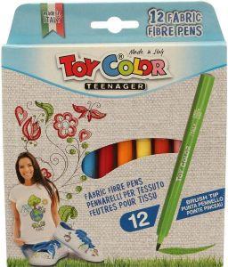 Box 12 Fabric Fiber Pens