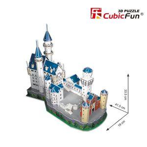 3D Neuschwanstein Castle Puzzle