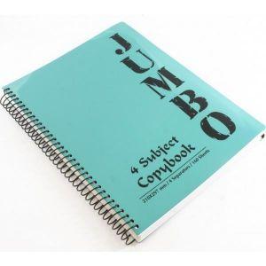 4 Subject Notebook