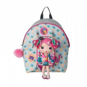 Flamingo Girl Backpack