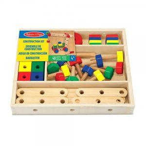 Wooden Construction Building Set