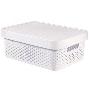 Storage Box Infinity With Lid 11 L