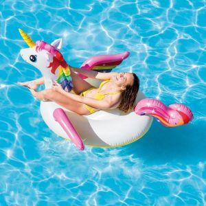 Inflatable Ride On Unicorn