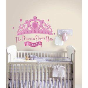 Princess Sleeps Here Stickers