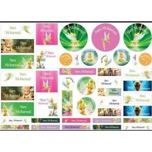 Tinker Bell Labels