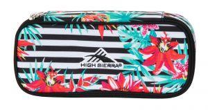 Pencil Case Tropical Stripe