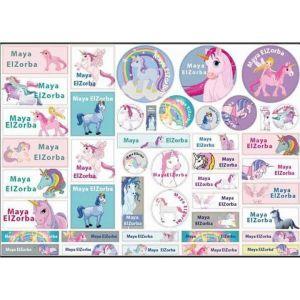 Unicorns Labels
