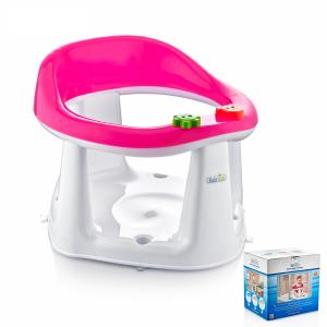 Baby Bath & Feed Seat Pink