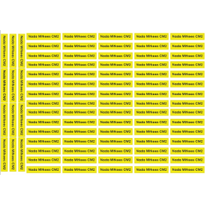 Yellow Streamlines Labels